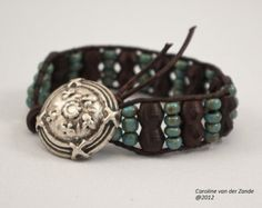 leather and bead jewelry - Google Search