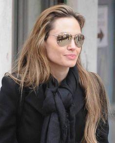 70eca106d8ba Who made Angelina Jolie's sunglasses that she wore while getting ice cream?  Sunglasses – Badgley