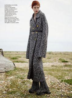 Vogue UK October 2014 | Natalie Westling by Karim Sadli