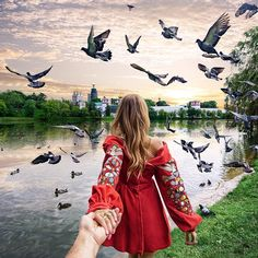 Follow me to Novodevichy convent park