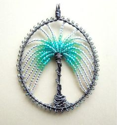 Wire work pendant - WireWorkers Guild: February 2013