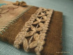 Sostarivayut embroidery. How to make a vintage stitched piece.