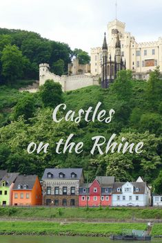 Stolzenfels Palace is one of the stunning castles and fortresses in the Upper Middle Rhine Valley of Germany, designated a UNESCO World Heritage Site in 2002 #RhineRiver #castles #Germany Read more about the castles of the Rhine.