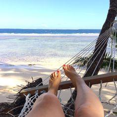 hammock on the beach!