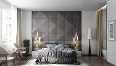 Couleur chambre design : 42 espaces dominés par le gris