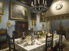 Dining room Palazzo Falson Malta