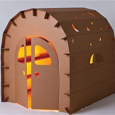 Child's Playhouse | 27 Insanely Clever Crafts You Can Make With Cardboard