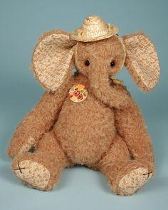 Butterfly by Paula Carter teddy bear artist elephant