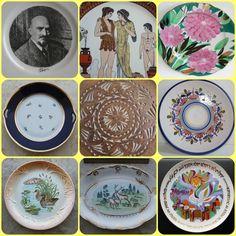 Plate Tray Collect Porcelain German Russian USSR Soviet Riga Lomonosov LFZ Rare #Unbranded
