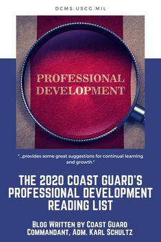 The 2020 Coast Guard Professional Development List is based on recommendations from the more junior members of the workforce and provides some great suggestions for continual learning and growth. Leadership Competencies, Difficult Conversations, Navy Seals, Coast Guard, Human Resources, Professional Development, Reading Lists, Knowledge, Learning