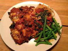 Evas Køkken: Chicken Parmigiana / Parmesan Kylling