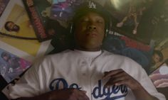 MLB Los Angeles Dodgers Authentic Home Jersey as seen on Dr. Dre in Straight Outta Compton | TheTake