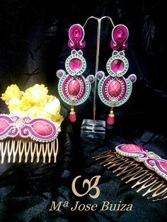 Complementos de Flamencas flecos flamenquitas: Pendientes   flamencas
