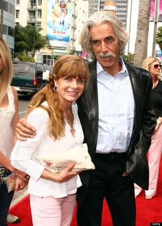 Sam Elliott and wife :)