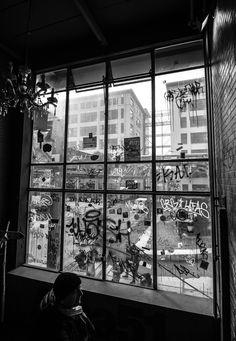 Graffiti Window at the Dutch Design Week