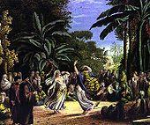 Danseuses au bord du Nil. Louis-François Cassas - 1784-1785