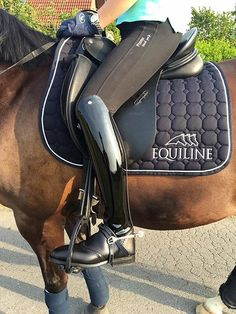 The most important role of equestrian clothing is for security Although horses can be trained they can be unforeseeable when provoked. Riders are susceptible while riding and handling horses, espec… Horse Riding Boots, Riding Gear, Horse Tack, Riding Helmets, Equestrian Boots, Equestrian Outfits, Equestrian Style, Dressage, Tall Boots