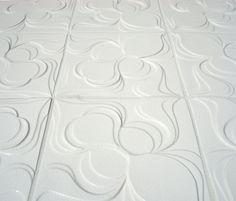Iris Bulbous in Gardenia: Topo Collection for Clayhaus Ceramics: www.clayhausceramics.com