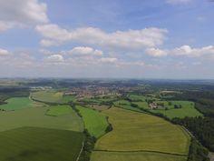 Sunny Warminster, Wiltshire.