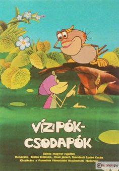 Vízipók csodapók - a hungarian cartoon Retro 1, Retro Vintage, Film Books, Music Film, Beautiful Cats, Hungary, Vintage Posters, Childhood Memories, Nostalgia