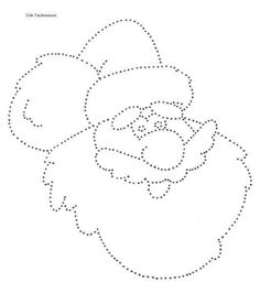 Kerstman Tracing Lines, String Art, Anton, Photo Booth, Kai, Stitch Patterns, Stitches, Wicked, Candles