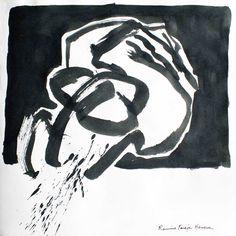 Ramiro Pareja Herrera. 2013. Tinta a pincel
