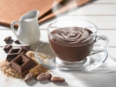 classica-cioccolata-foodness Chocolate Fondue, Pudding, Tableware, Desserts, Food, Tailgate Desserts, Dinnerware, Deserts, Custard Pudding