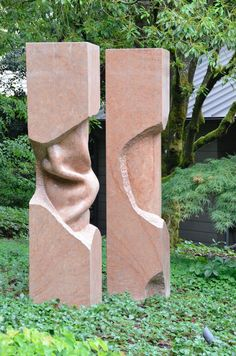 Sculpture by David Logan.
