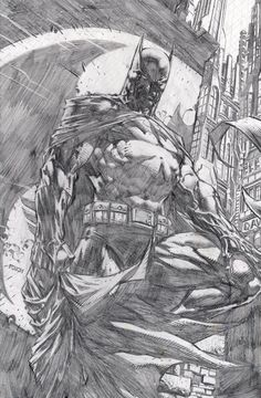 Batman: The Dark Knight by David Finch *