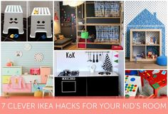 7 Clever IKEA Hacks For Your Kid S Room
