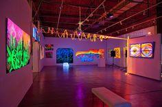 blacklight  | Blacklight Dinner at Smile Gallery | theartblog