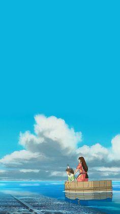 Lockscreens and Wallpapers — watching kikis delivery tonight xD ✺ ✺ i should. Wallpaper Animes, Anime Scenery Wallpaper, Animes Wallpapers, Cute Wallpapers, Hayao Miyazaki, Studio Ghibli Art, Studio Ghibli Movies, Studio Ghibli Quotes, Film Animation Japonais
