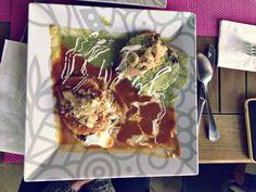 Para iniciar un gran día: Huevos Divorciados del Chef en #ExperienciaGourmet #Desayuno #Foodie #Liverpool #FashionFest2014