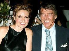 pic of Mariska Hargitay and her dad, Mickey Hargitay