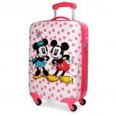 Maleta Mickey & Minnie Dots Cabina + Regalo Minnie