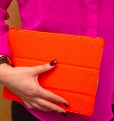 citrus orange leather litchi ipad case! NEW. buy now on tabi amazon and ebay store! Orange Leather, Ipad Case, Luxury Branding, Buy Now, Card Holder, Tech, Slim, Wallet, Amazon