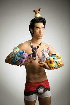 BuzzFeed's Eugene Yang showing that you can indeed raise more than 6 Pokemon at once