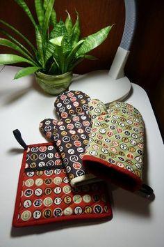 Fun kitchen sewing