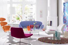 Möbel-Klassiker bekennen Farbe - Wohnwelten in kräftigen Farben 10