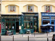 rue de la Montagne Ste Geneviève Paris V  been there.