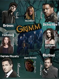 Grimm on watch. One of my favourite programs