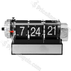 Classic Adjustable Auto Flip Clock with Alarm - WorldWide Free Shipping