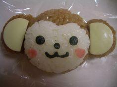 Monkey onigiri
