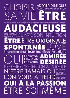 Manifesto - Décryptez le parfum - Yves Saint Laurent