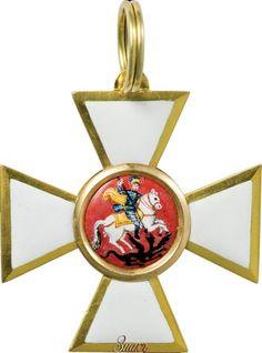 Орден Святого Великомученика и Победоносца Георгия 1 - 2 степени