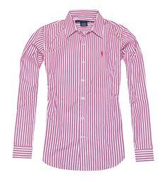 Ralph Lauren Sport Women Striped Long Sleeve Shirt (14, Pink/White) RALPH LAUREN http://www.amazon.com/dp/B00NLGRANU/ref=cm_sw_r_pi_dp_01Qmub0TSE3BP