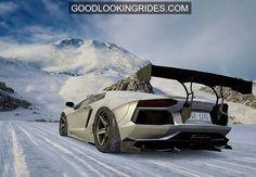 Lamborghini in the Snow #on #cars #auto #image #automotive