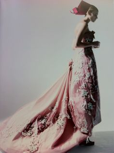 glamandvanity:    Patrick Demarchelier: 'Dior Couture'  Model: Maryna Linchuk  Dress: Christian Dior Haute Couture S/S 2011