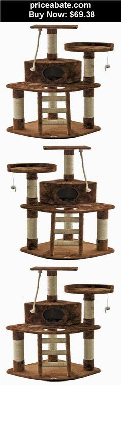Animals-Cats: Cat Condo Tree House Furniture Post Pet Tower Play Scratching Kitten Scratcher - BUY IT NOW ONLY $69.38