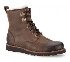 UGG Australia Mens Hannen Boot Grizzly Size 9 - http://authenticboots.com/ugg-australia-mens-hannen-boot-grizzly-size-9/